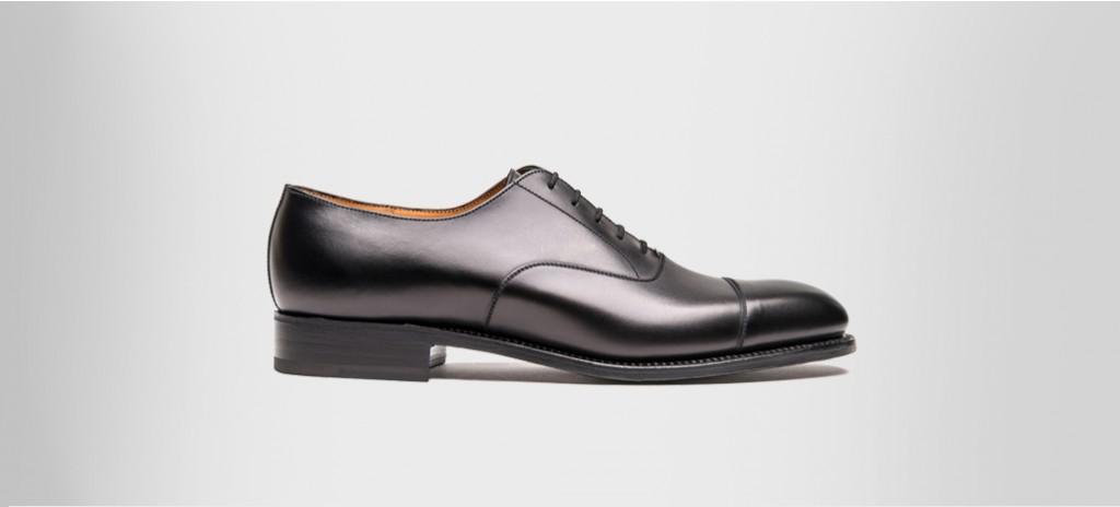 Cap Toe Oxford Shoe Black Boxcalf Oxfords Jm Weston