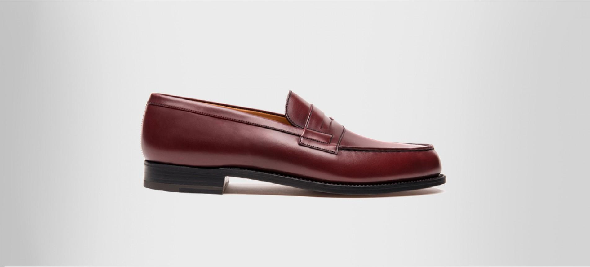 acheter populaire vente la plus chaude france pas cher vente Mocassin 180 Toucan burgundy boxcalf - Loafers J.M. Weston