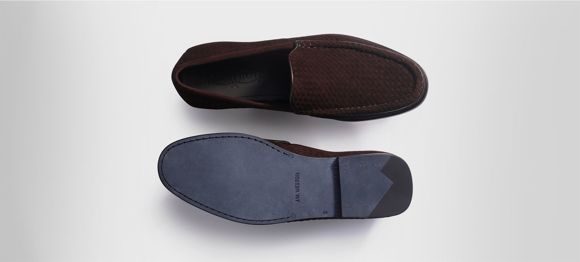 Woven Soft Loafer Calvi Woven Leather