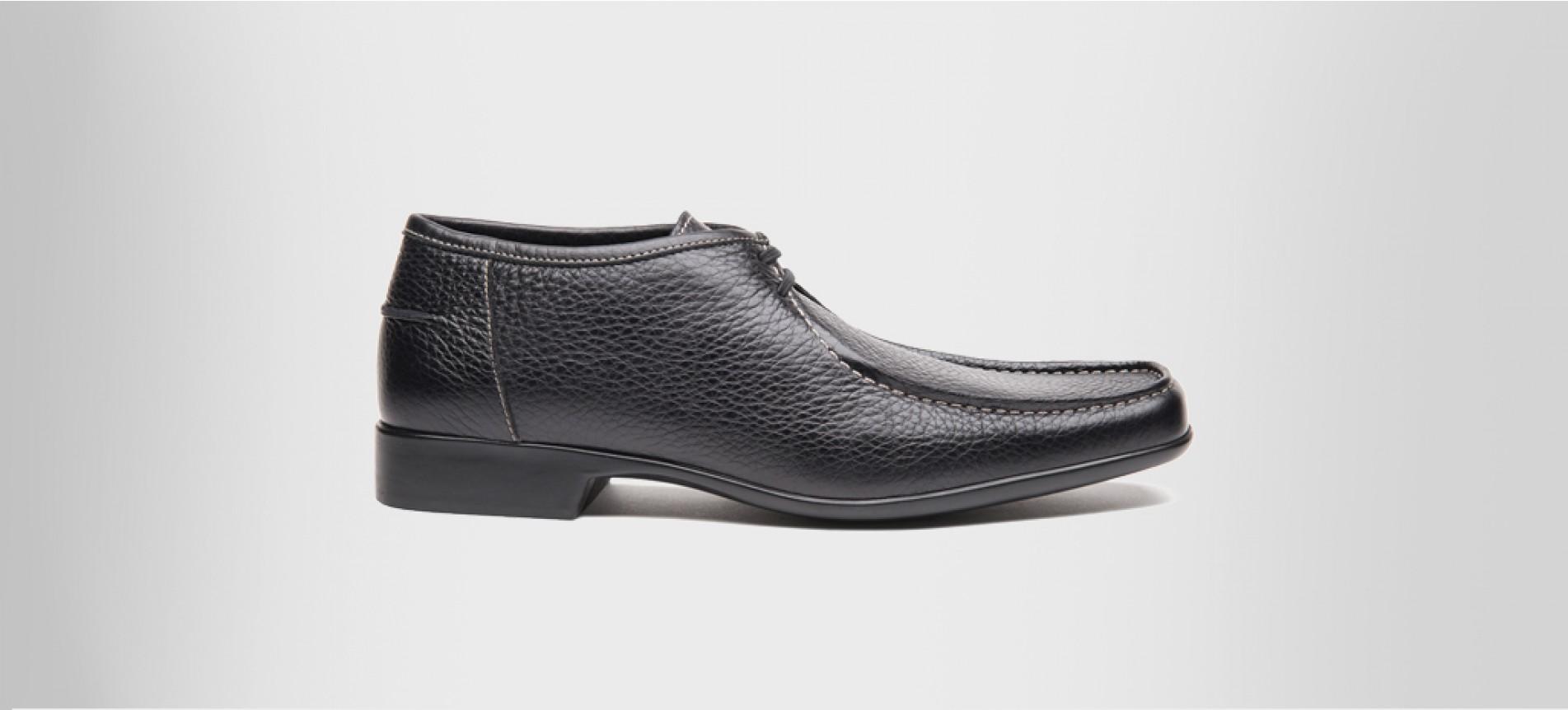 rubber sole dress boots