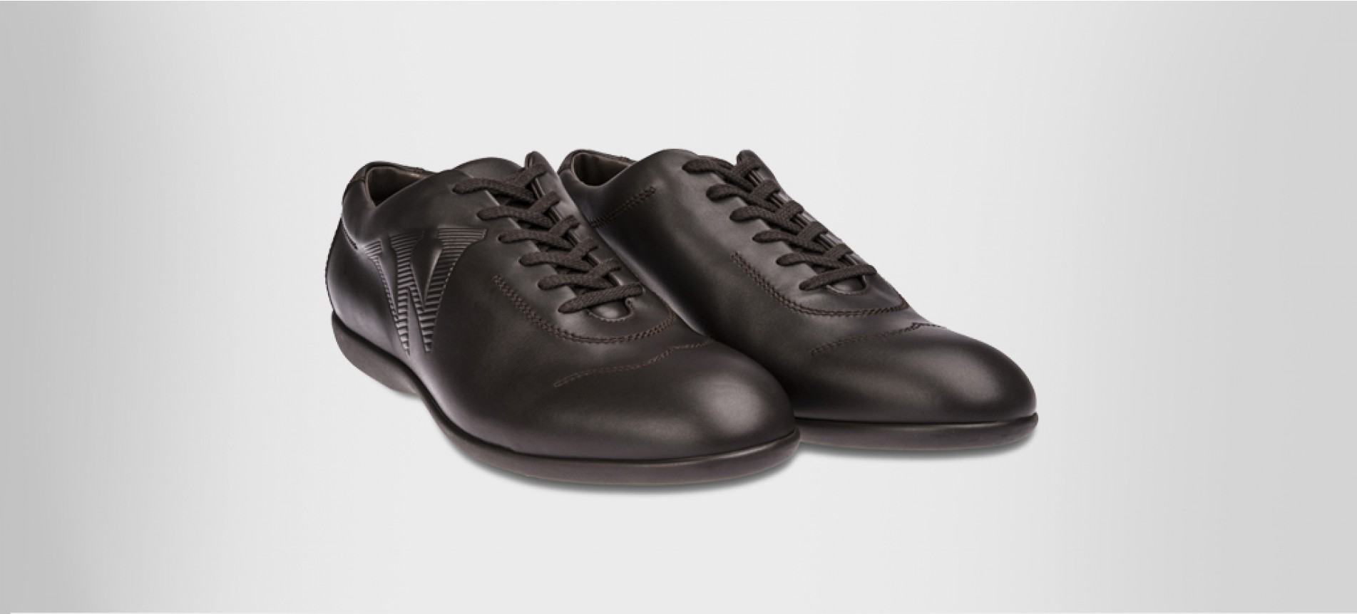 Round-toe trainers - OUTLET Chocolate