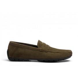 Ajaccio Car Shoe with Strap