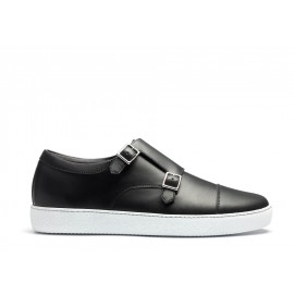Double buckle sneaker